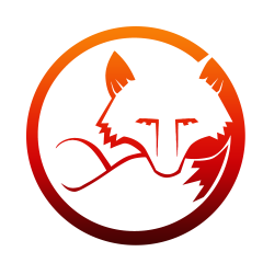Red Circle Red Fox